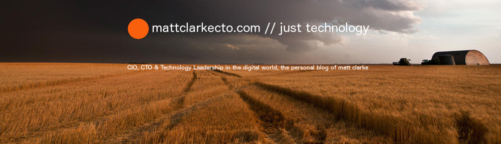 matt clarke // just technology